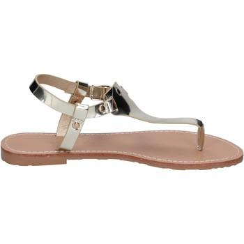 Scarpe Donna Sandali Francescomilano sandali pelle sintetica platino