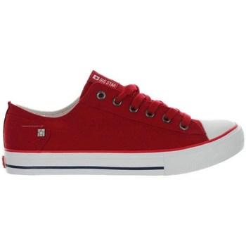 Scarpe Donna Sneakers basse Big Star DD274339 Rosso