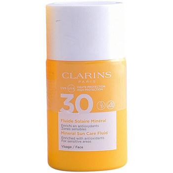 Bellezza Donna Protezione solari Clarins Solaire Fluide Minéral  30 ml