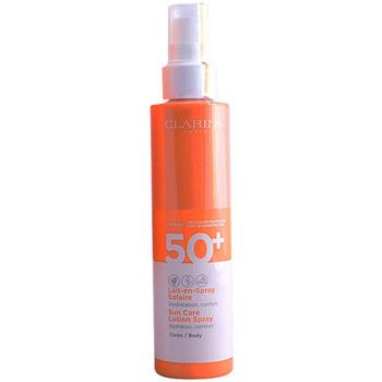 Bellezza Donna Protezione solare Clarins Solaire Lait En Spray Spf50  150 ml