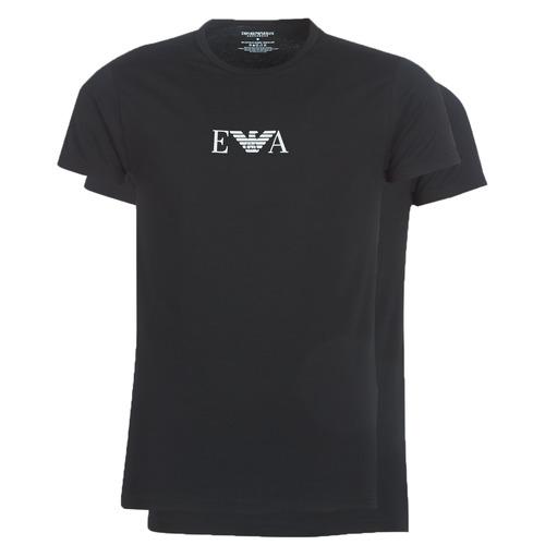 Abbigliamento Uomo T-shirt maniche corte Emporio Armani CC715-111267-07320 Nero
