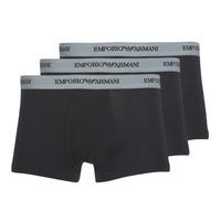 Biancheria Intima  Uomo Boxer Emporio Armani CC717-111357-00120 Nero