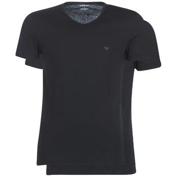 Abbigliamento Uomo T-shirt maniche corte Emporio Armani CC722-111648-07320 Nero