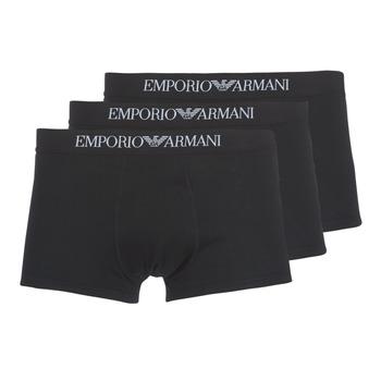 Biancheria Intima  Uomo Boxer Emporio Armani CC722-111610-21320 Nero