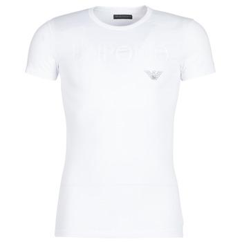 Abbigliamento Uomo T-shirt maniche corte Emporio Armani CC716-111035-00010 Bianco