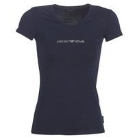 Abbigliamento Donna T-shirt maniche corte Emporio Armani CC317-163321-00135 Marine