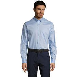 Abbigliamento Uomo Camicie maniche lunghe Sols BUSSINES MODERN MEN Azul