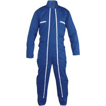 Abbigliamento Tuta jumpsuit / Salopette Sols JUPITER PRO MULTI WORK Azul