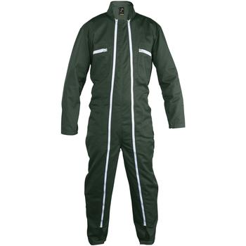 Abbigliamento Tuta jumpsuit / Salopette Sols JUPITER PRO MULTI WORK Verde