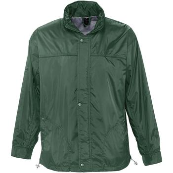 Abbigliamento giacca a vento Sols MISTRAL HIDRO SWEATER Verde