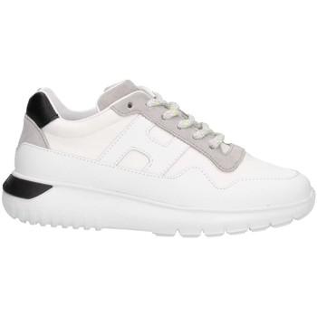 Scarpe Unisex bambino Sneakers basse Hogan HXC3710AP30KY688E Sneakers Bambina Bianco/nero Bianco/nero