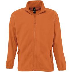 Abbigliamento Uomo Felpe in pile Sols NORTH POLAR MEN Naranja