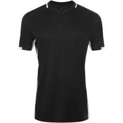 Abbigliamento Uomo T-shirt maniche corte Sols CLASSICO SPORT Negro