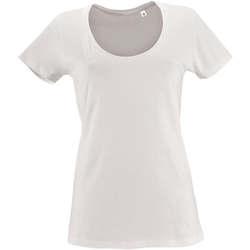 Abbigliamento Donna T-shirt maniche corte Sols METROPOLITAN CITY GIRL Blanco