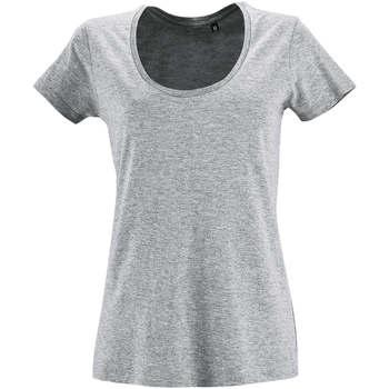 Abbigliamento Donna T-shirt maniche corte Sols METROPOLITAN CITY GIRL Gris