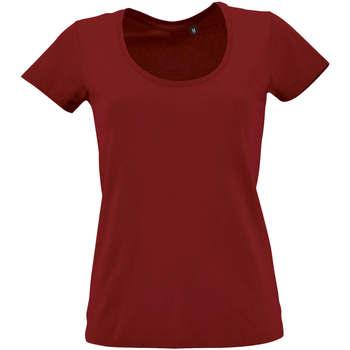 Abbigliamento Donna T-shirt maniche corte Sols METROPOLITAN CITY GIRL Rojo