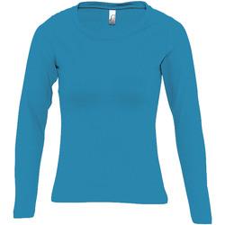Abbigliamento Donna T-shirts a maniche lunghe Sols MAJESTIC COLORS GIRL Azul
