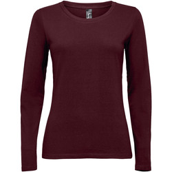 Abbigliamento Donna T-shirts a maniche lunghe Sols MAJESTIC COLORS GIRL violeta