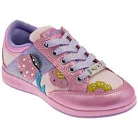 Scarpe Unisex bambino Sneakers basse Lelli Kelly Coccinella Sportive basse rosa