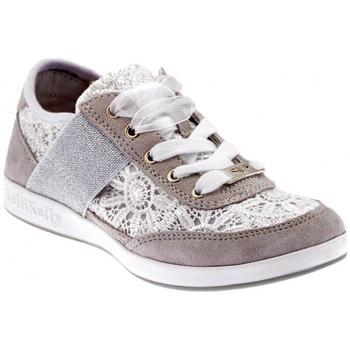 Scarpe Unisex bambino Sneakers basse Lelli Kelly Californa Macramè Sportive basse bianco