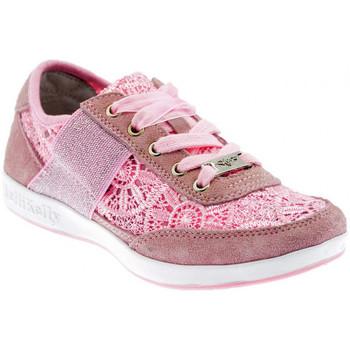 Scarpe Unisex bambino Sneakers basse Lelli Kelly Californa Macramè Sportive basse rosa