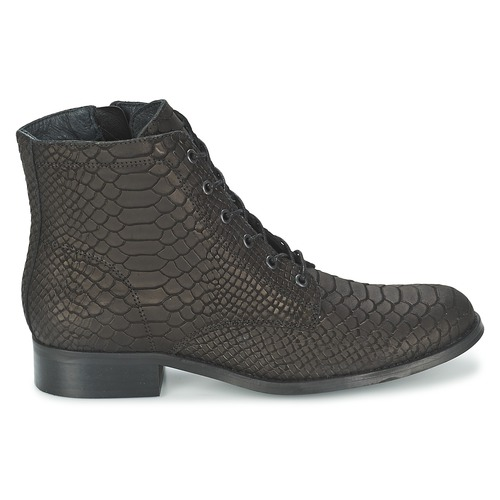 Gratuita Moletta Consegna 6950 Biz Scarpe Stivaletti Donna Nero Shoe wPOnk0