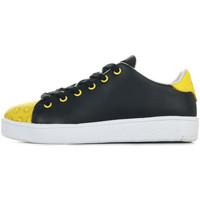 Scarpe Unisex bambino Sneakers Smiley Enjoy Nero
