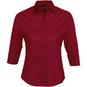 Abbigliamento Donna Camicie Sols EFFECT ELEGANT Rojo