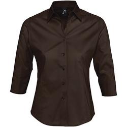 Abbigliamento Donna Camicie Sols EFFECT ELEGANT Marr?n