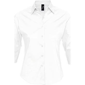 Abbigliamento Donna Camicie Sols EFFECT ELEGANT Blanco