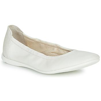 Scarpe Bambina Ballerine Ramdam LIBRE Bianco