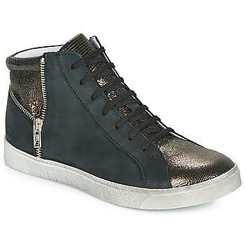 Scarpe Bambina Sneakers alte Achile CARLA Nero