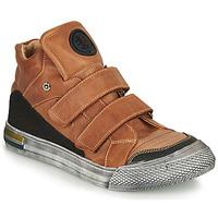 Scarpe Bambino Sneakers alte Achile HUGO Marrone