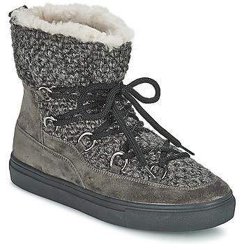 Scarpe Donna Sneakers alte Kennel + Schmenger PIETRU Grigio