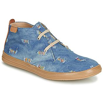 Scarpe Bambina Sneakers alte Achile ANDREA Blu