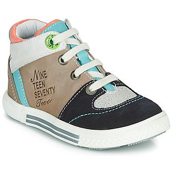 Scarpe Bambino Sneakers alte Catimini PIMENT Beige