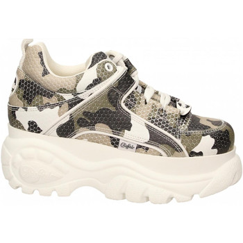 Scarpe Donna Sneakers basse Buffalo 1339-14 LEATHER camouflage