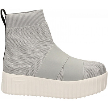 Scarpe Donna Sneakers alte Fessura HI-LINE KNIT silver-ice