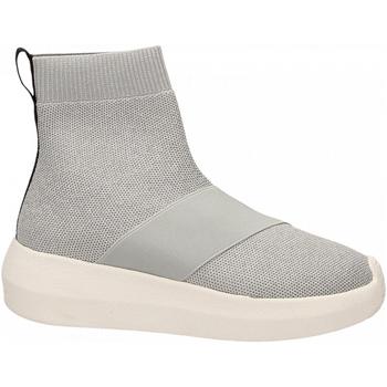 Scarpe Donna Sneakers alte Fessura HI-TWINS KNIT silver-ice