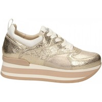 Scarpe Donna Sneakers basse Janet Sport LENA platino