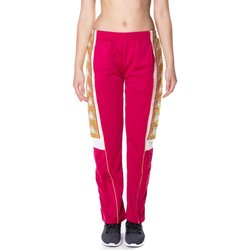 Abbigliamento Donna Pantaloni da tuta Kappa BANDA 10 ARVIS 906-rosso-bianco