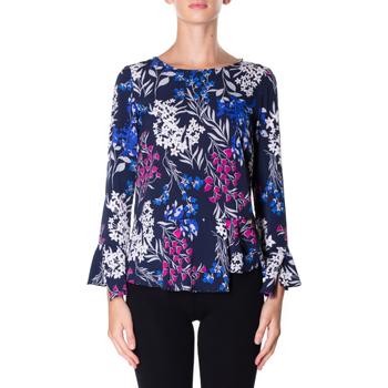 Abbigliamento Donna Camicie Luckylu BLUSA STMPA CON PENN 0405-navy
