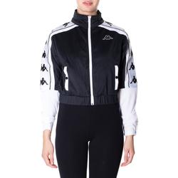 Abbigliamento Donna Felpe Kappa BANDA 10 ANTEY 903-nero-bianco