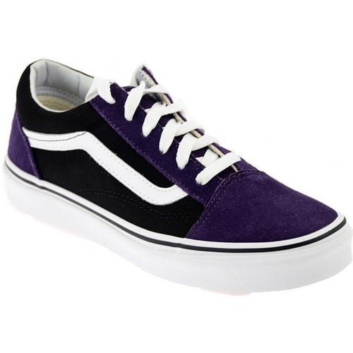 Scarpe Sneakers Vans Oldskoolsneakers Uomo Basse Viola 5400 l3KTucF1J5