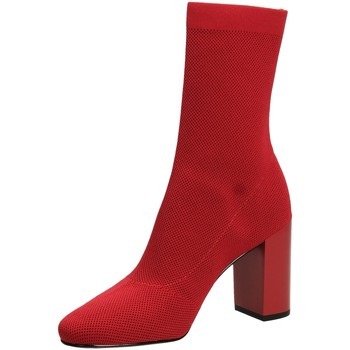 Scarpe Donna Stivaletti What For JACK red-rosso