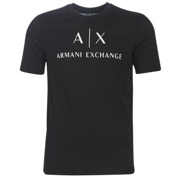 Abbigliamento Uomo T-shirt maniche corte Armani Exchange 8NZTCJ-Z8H4Z-1200 Nero