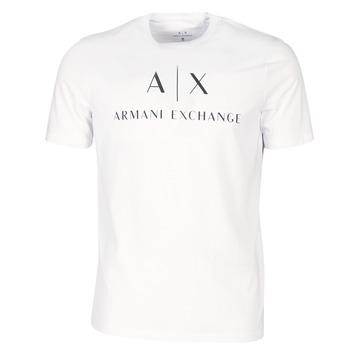 Abbigliamento Uomo T-shirt maniche corte Armani Exchange 8NZTCJ-Z8H4Z-1100 Bianco