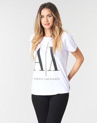 Abbigliamento Donna T-shirt maniche corte Armani Exchange 8NYTCX-YJG3Z-5102 Bianco