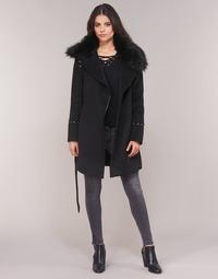Abbigliamento Donna Cappotti Moony Mood LITEA Nero