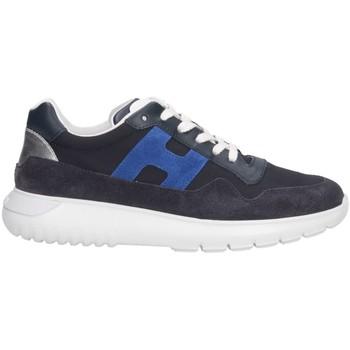 Scarpe Unisex bambino Sneakers basse Hogan HXC3710AP30KK6694P Sneakers Bambino Blu Blu